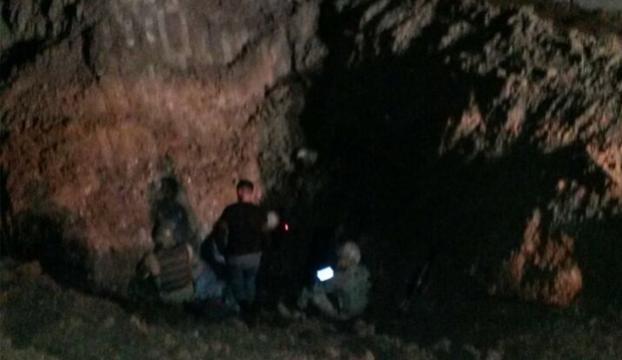 Nusaybinde Suriyeye gizli tünel bulundu