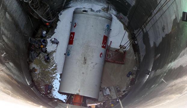İlk yerli tünel açma makinesini faaliyete geçti