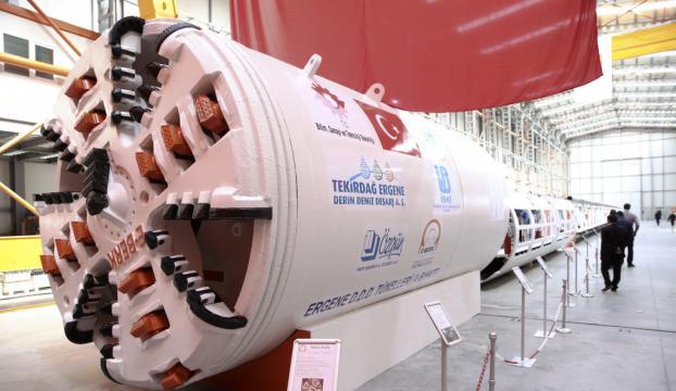 İlk yerli tünel açma makinesi tanıtıldı