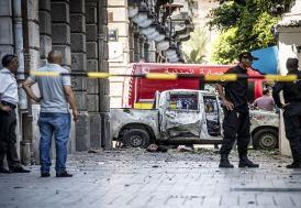 Tunus'ta televizyon yayın istasyonuna silahlı saldırı