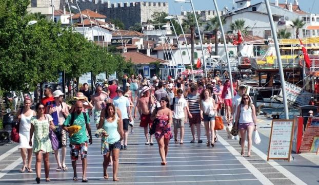 Türkiyeye gelen yabancı sayısı arttı