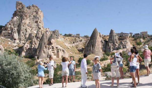 Türkiyeye gelen turist sayısı