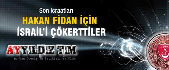 Türk hackerlardan İsrail'e 'Hakan Fidan ve İstiklal Marş'lı tepki