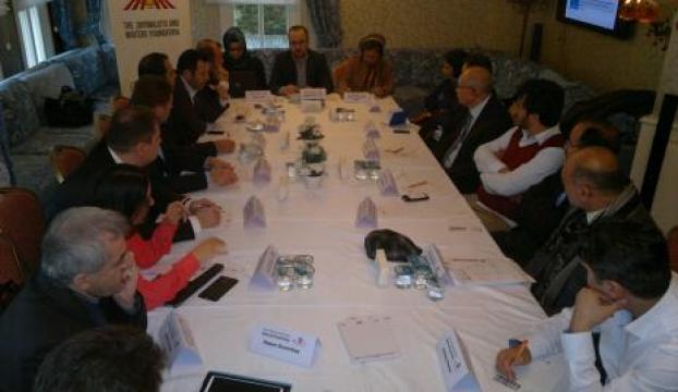 Türk ve Afgan gazeteciler Medya ve Barış forumunda bir araya geldi