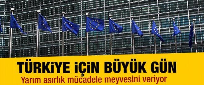 Türkiye için büyük gün