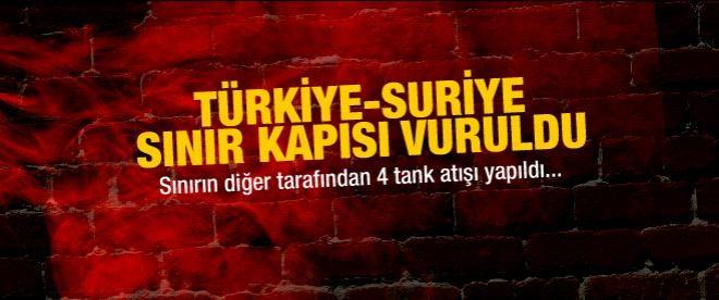 Türkiye sınır kapısını vurdular