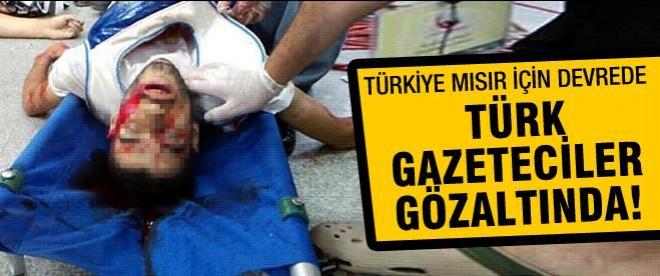 Türkiye Mısır için devrede, AA ekibine gözaltı