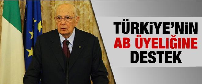 Türkiye'nin AB üyeliğine destek