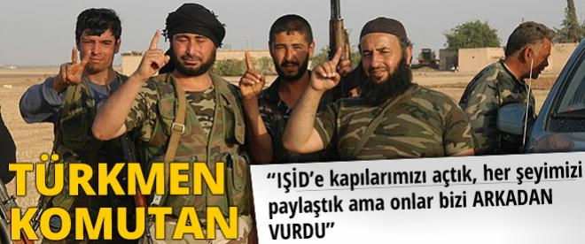 Türkmen komutandan IŞİD uyarısı