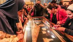 Tutankhamun'un altınları ilk kez sergilendi