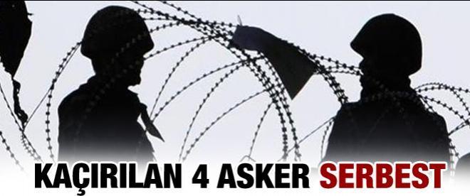4 asker serbest