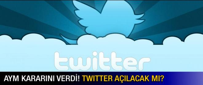 AYM'den Twitter kararı