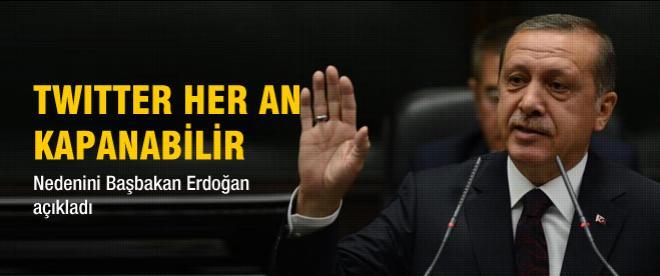 Erdoğan'dan twitter açıklaması