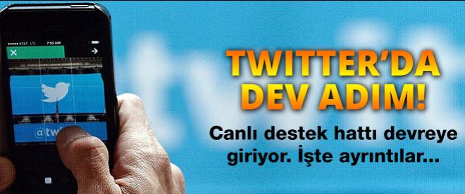Twitter'da dev adım