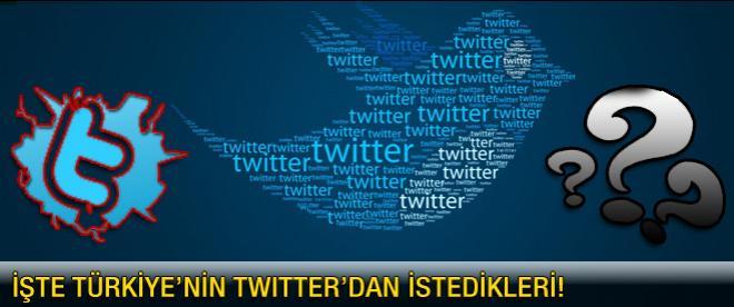Twitter ile Türkiye masaya oturdu