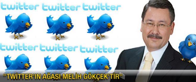 """""""Twitter'ın ağası Melih Gökçek'tir"""""""