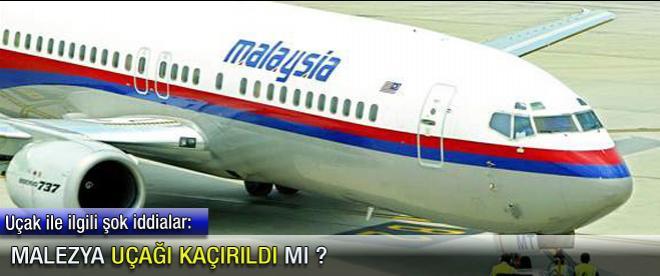 O uçak kaçırıldı mı ?