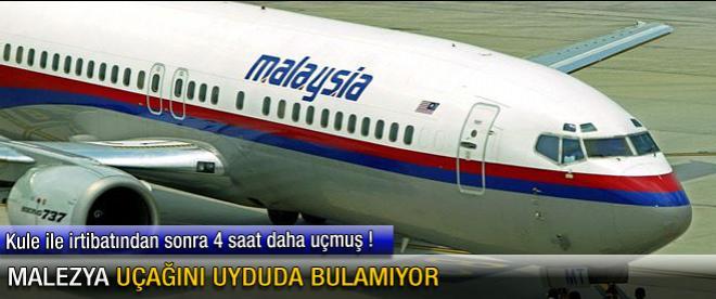 Malezya uçağını uyduda bulamıyor