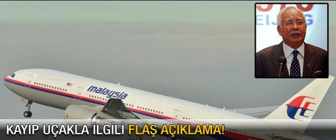 Uçak ile iletişim kasten kesilmiş