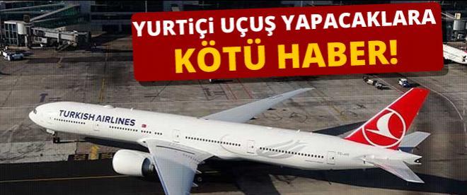 İstanbul'da uçuşlar iptal