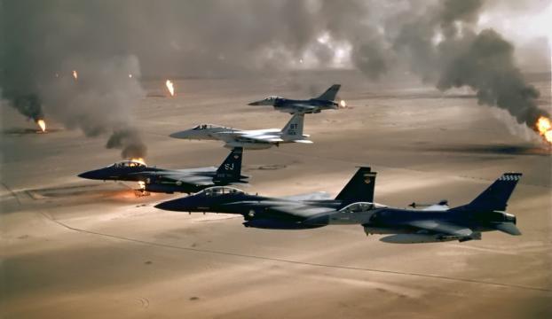 Irak savaş uçakları IŞİDe saldırdı