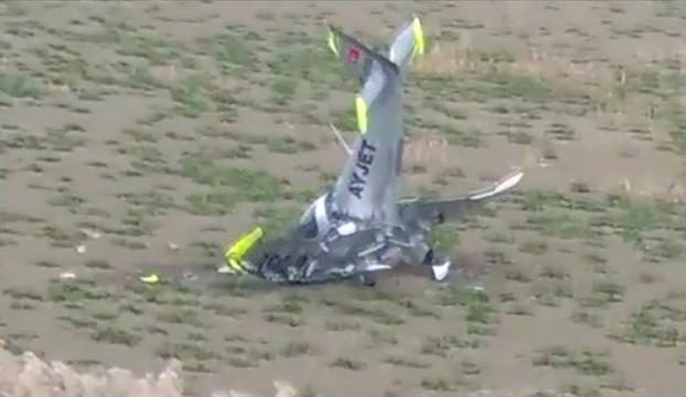 Büyükçekmecede eğitim uçağı düştü