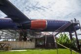 Uçağı restorana dönüştürdüler!