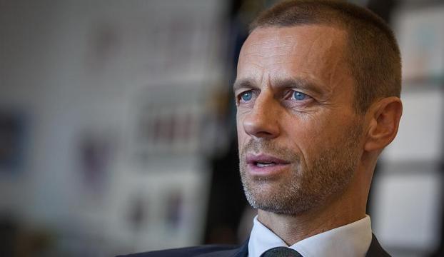 UEFA Başkanı Ceferinden Trumpa uyarı