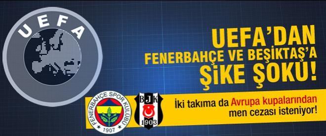 Fenerbahçe ve Beşiktaş Disiplin Kurulu'nda!