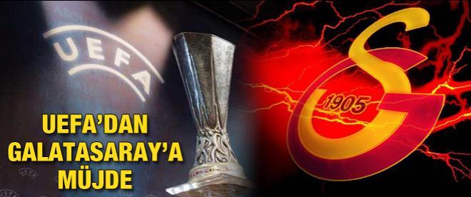 UEFA Galatasaray'ın yüzünü güldürdü