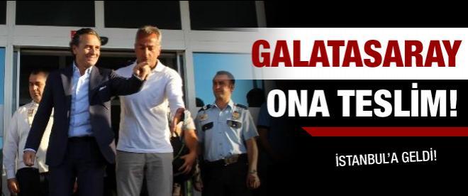 Prandelli Istanbul'da ayak bastı