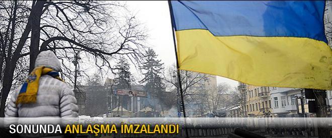 Ukrayna'da anlaşma imzalandı