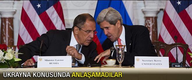 Ukrayna konusunda anlaşamadılar