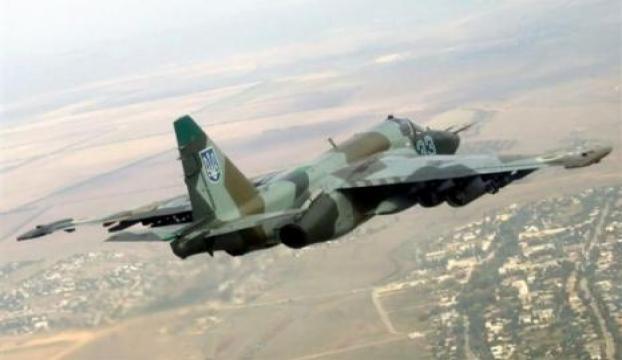 Ukraynada askerî uçak düştü
