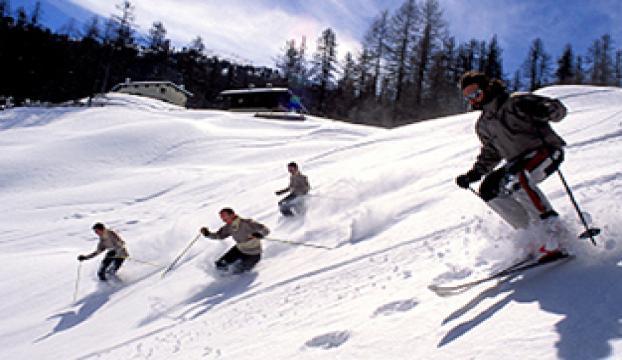 Tatil kış turizmini canlandırdı