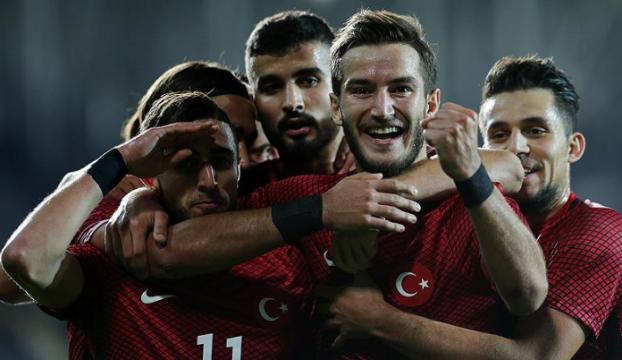 Ümit Milli Futbol Takımının konuğu Azerbaycan