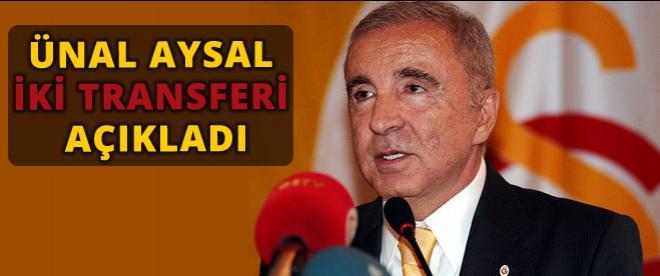 Galatasaray'dan iki transfer
