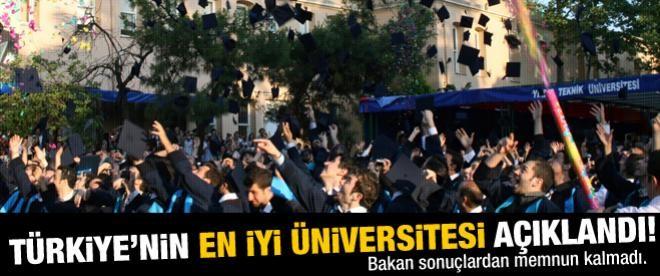 Türkiye'nin en iyi üniversiteleri açıklandı