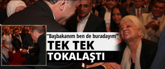 Erdoğan'ın vizyon toplantısında 2 ünlü hayranı