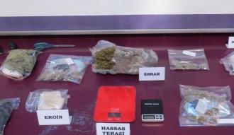 Başkentte uyuşturucuyla mücadele