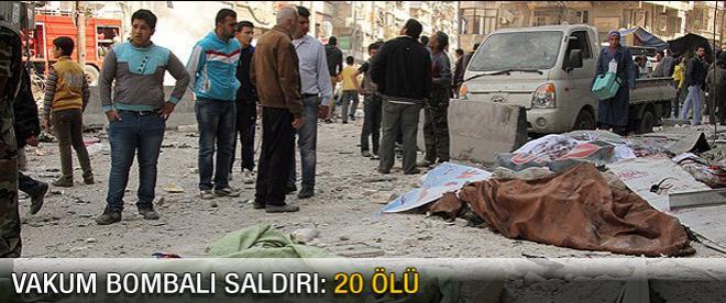 """""""Vakum bombalı"""" saldırı: 20 ölü"""