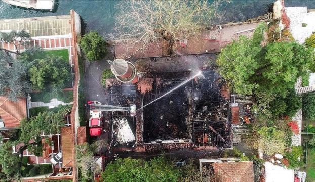 İstanbul İtfaiyesi, Vaniköy Camisindeki yangının nedenini açıkladı