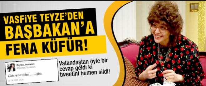 Vasfiye Teyze'den Erdoğan'a küfür tweeti