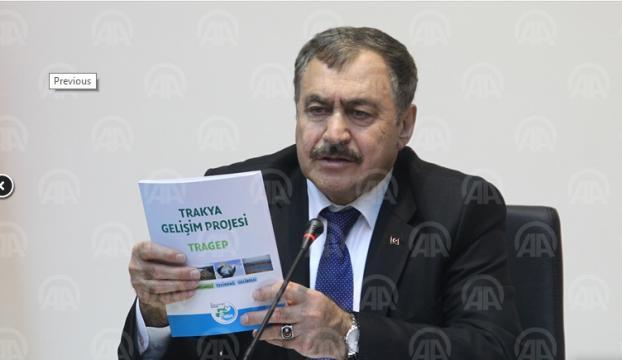 Orman ve Su İşleri Bakanı Eroğlu, Kırklarelinde