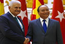 Başbakan Yıldırım: Vietnam ile ilişkileri her alanda geliştirme kararlılığındayız