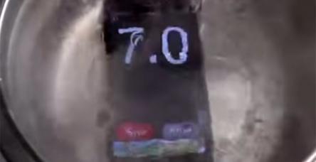 testIphone 6 kaynar suya atıldı, ya sonra...