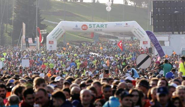 Vodafone İstanbul Yarış Maratonuna doğru