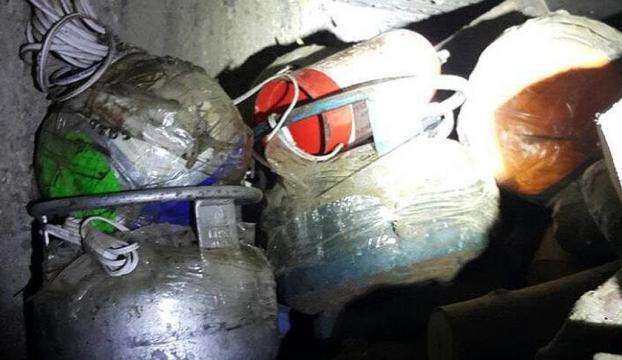 PKK voleybol topuna bomba tuzaklamış