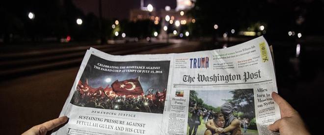 Washington Postta tam sayfa FETÖ uyarısı