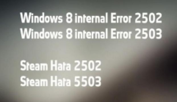 Windows 8de .msi dosyaları hatası